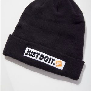 52bc6a0e387 Nike Accessories - PRICE ⬇ NWT Nike NSW Just Do It Beanie